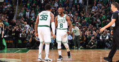 Marcus Smart and Kemba Walker