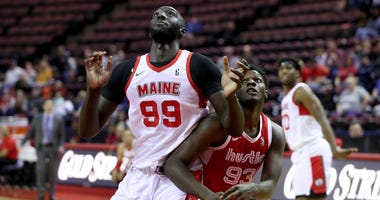 Tacko Fall battles fro position in Memphis