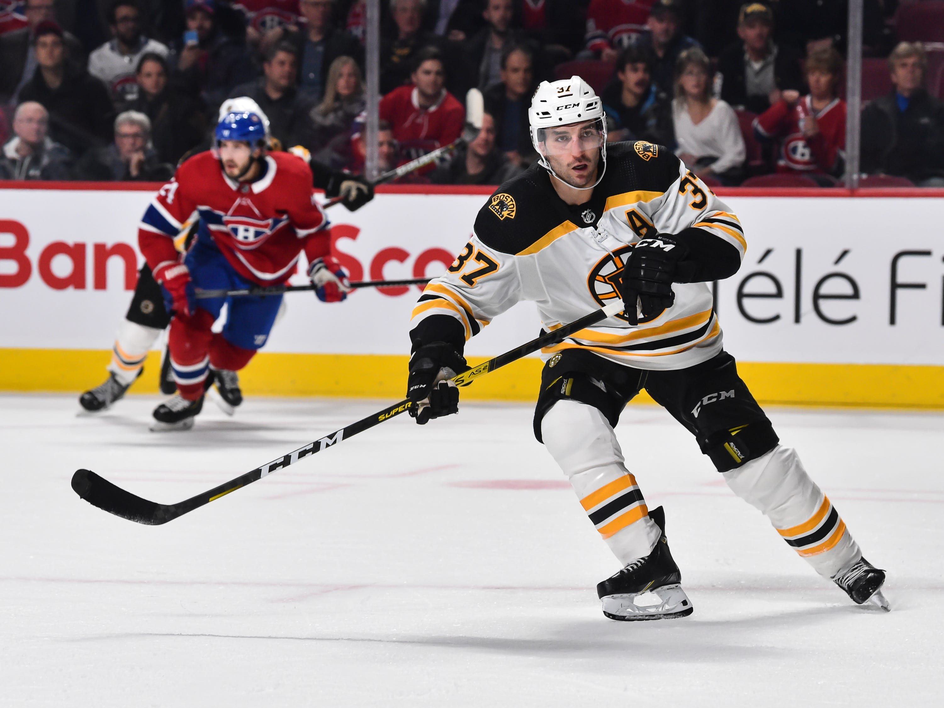 Patrice Bergeron could be among Bruins making return from injury