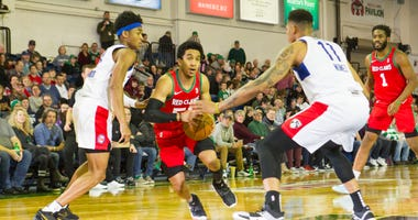 Tremont Waters tries to create space