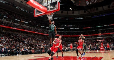 Javonte Green throws one down against the Bulls