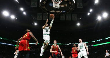 Tatum vs Hawks