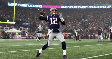 Tom Brady on field Wild Card 2020