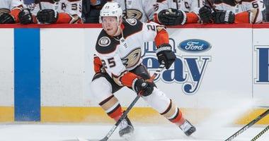 Ondrej Kase Anaheim Ducks Boston Bruins