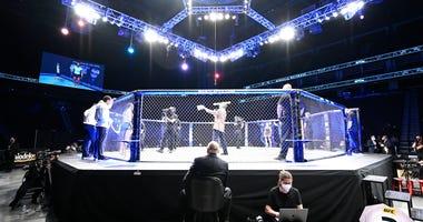 UFC 249 octagon