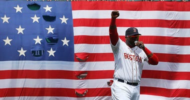 Ortiz Fenway post marathon bombing