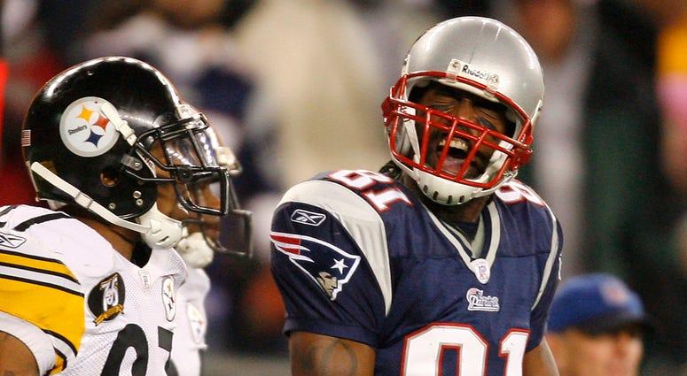Former New England Patriots receiver Randy Moss