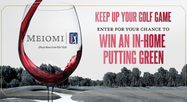 Enter for your chance to win an in-home putting green