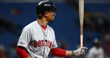 Mookie Betts might be traded by the Red Sox