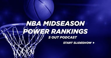 5 Out NBA Midseason Power Rankings