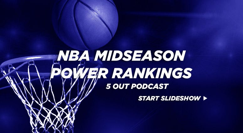 5 Out NBA Midseason Power Rankings