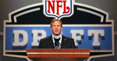 Roger Goodell at the NFL Draft