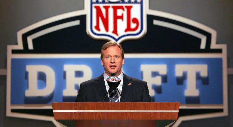 Roger Goodell at the NFL Draft