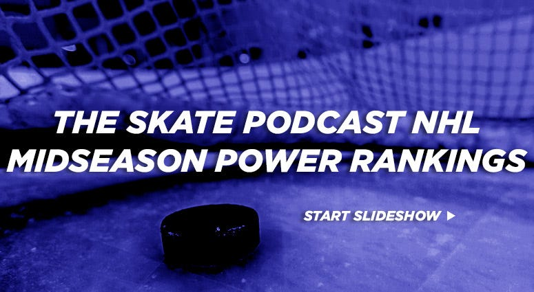 The Skate Podcast NHL Midseason Power Rankings