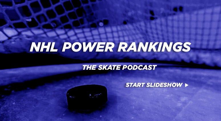 The Skate Podcast NHL Power Rankings