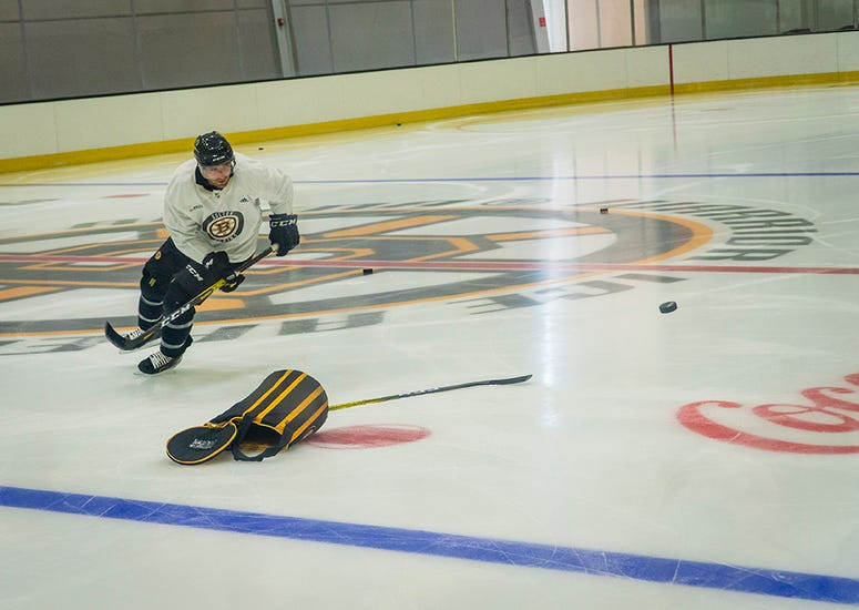 Patrice Bergeron (Photo courtesy Boston Bruins)