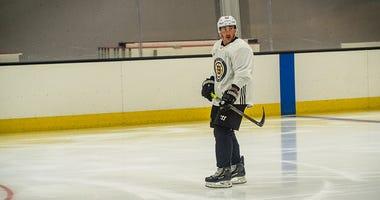 Brad Marchand (Photo courtesy Boston Bruins)