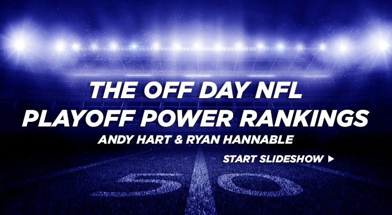 The Off Day NFL Playoff Power Rankings