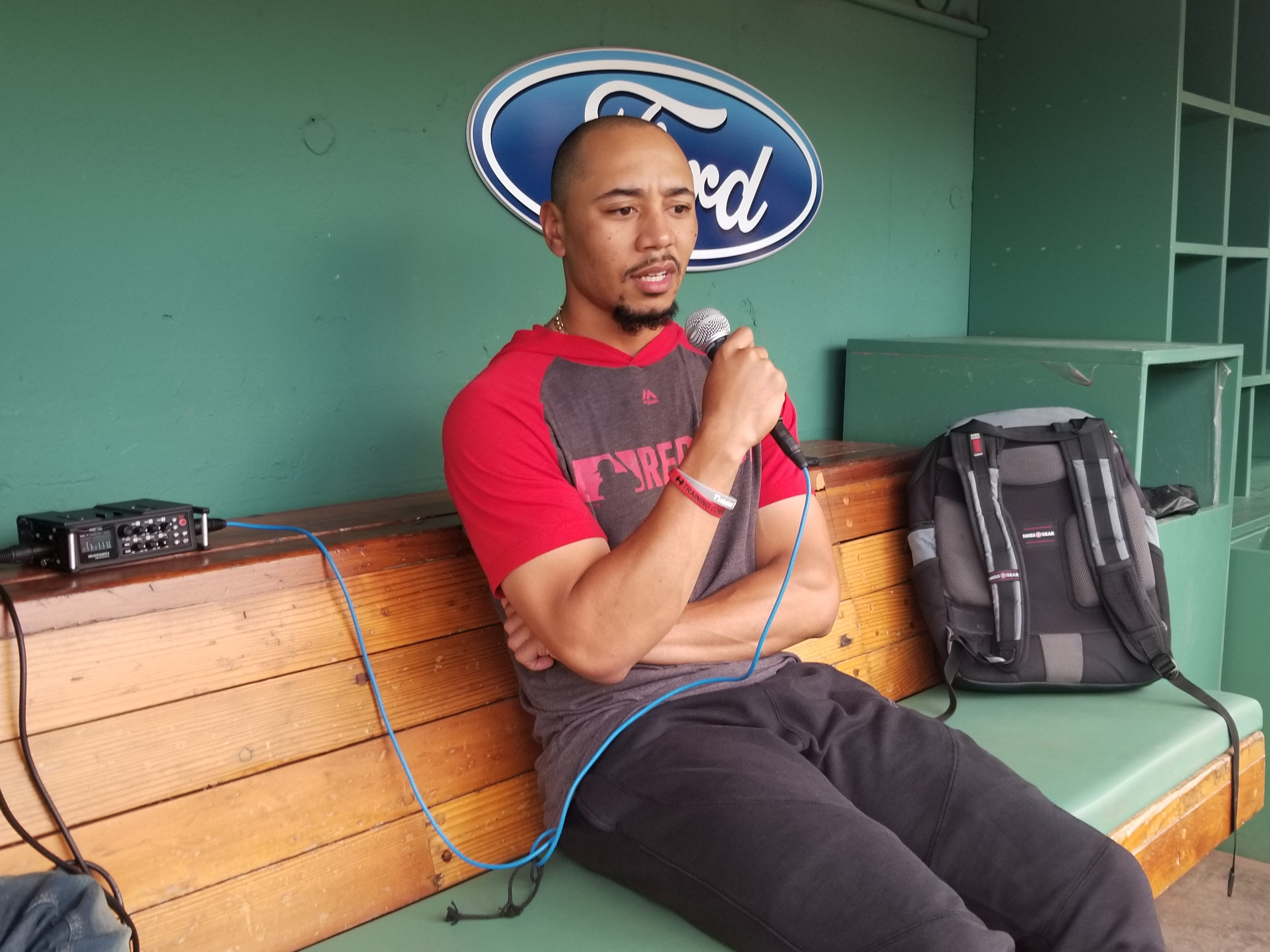 Chaim Bloom expects Mookie Betts to be on Opening Day roster