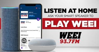 Listen to WEEI on your smart speaker