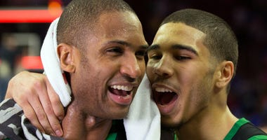 Al Horford and Jayson Tatum