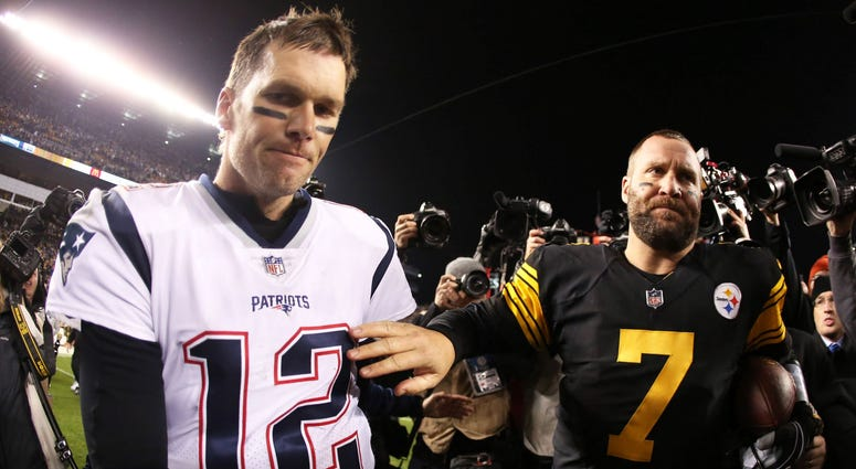 Tom Brady and Ben Roethlisberger