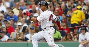 Red Sox infielder Marco Hernandez