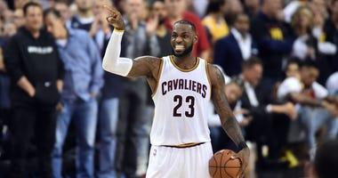 LeBron James is subtweeting again.