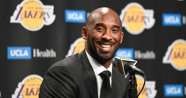 Los Angeles Lakers great Kobe Bryant