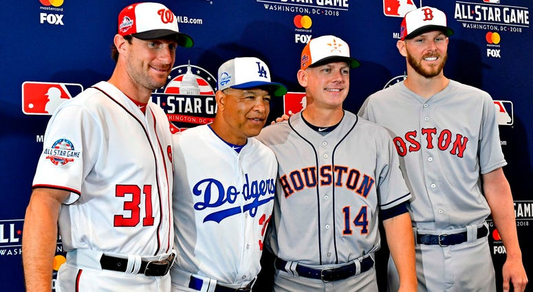 All-Star starting pitchers and team managers