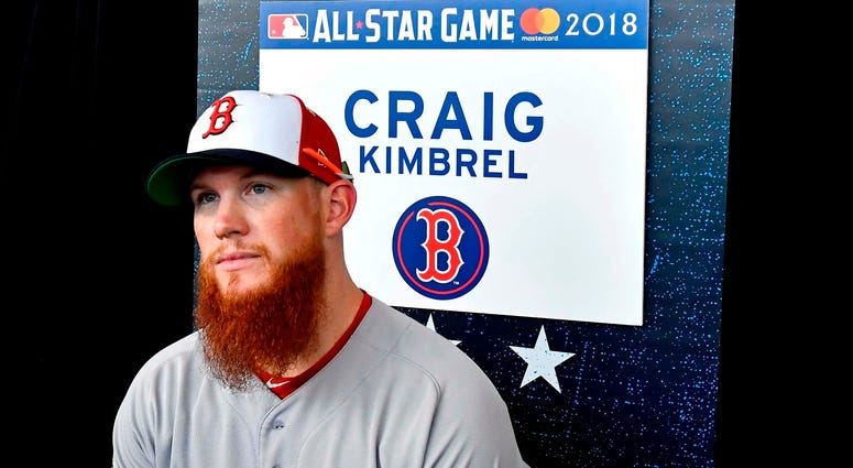 Craig Kimbrel on All-Star workout day