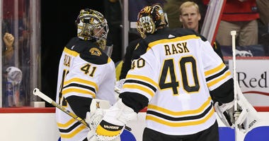 Tuukka Rask Jaroslav Halak Boston Bruins