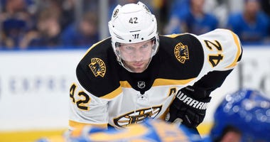 David Backes Boston Bruins