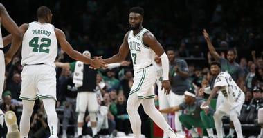 Celtics guard Jaylen Brown