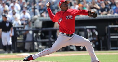 Red Sox reliever Jenrry Mejia