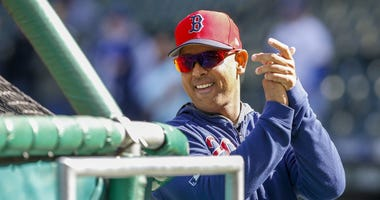 Red Sox manager Alex Cora