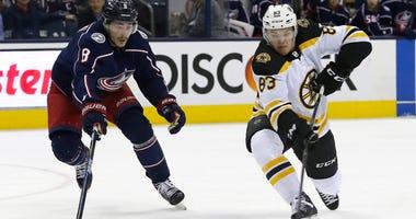 Karson Kuhlman Boston Bruins