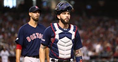 Red Sox catcher Blake Swihart