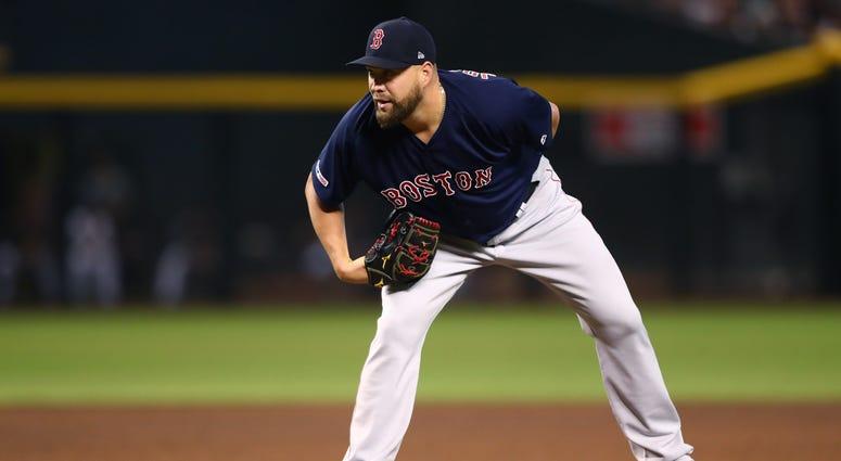 Boston Red Sox pitcher Brian Johnson