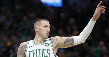 Celtics forward Daniel Theis