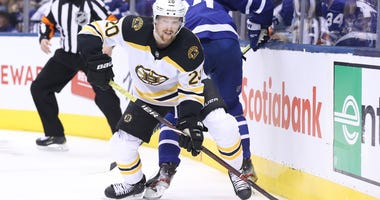 Bruins left wing Joakim Nordstrom