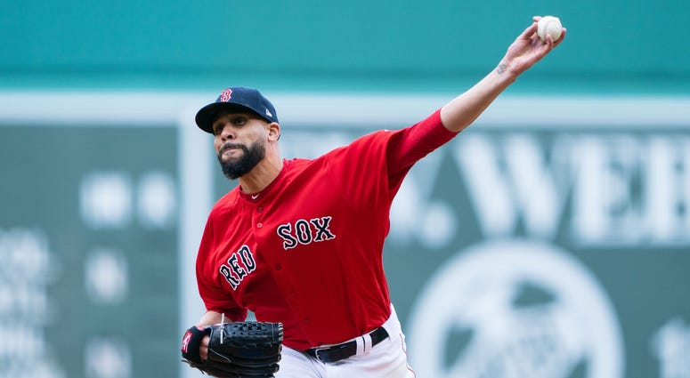 Red Sox pitcher David Price
