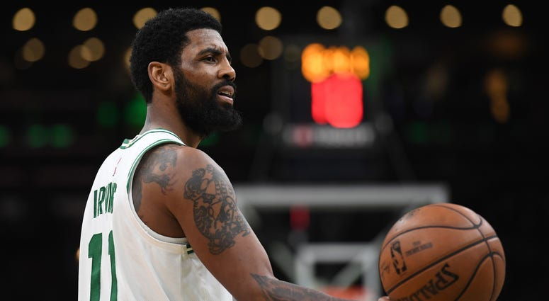 Boston Cetlics guard Kyrie Irving