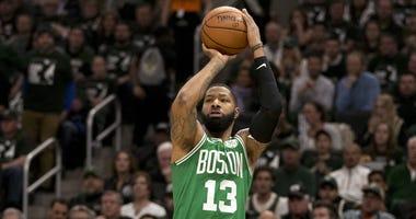 Celtics forward Marcus Morris