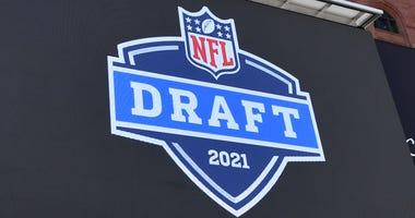 NFL Draft signage