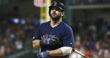 Red Sox first baseman Mitch Moreland