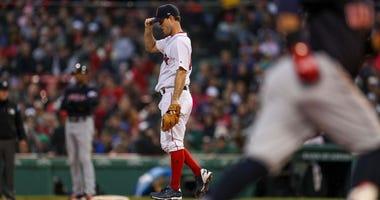 Red Sox pitcher Ryan Weber