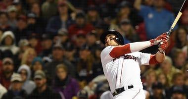 Red Sox rookie Michael Chavis