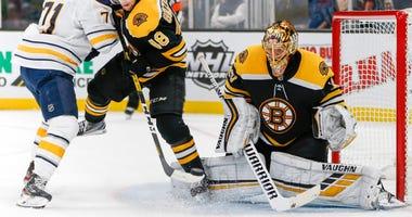 Tuukka Rask Boston Bruins Buffalo Sabres