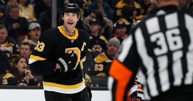 Zdeno Chara Boston Bruins Edmonton Oilers